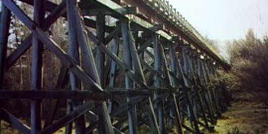 Muttontown Viaduct, between Clyde and Alexandra.