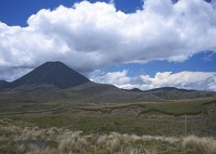 Ngauruhoe from the Waihohonu Track