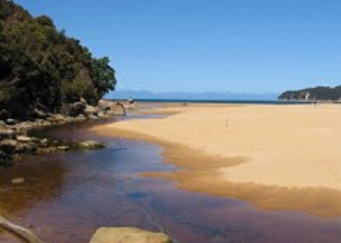 Onewatahuti Beach on Abel Tasman Coast Track
