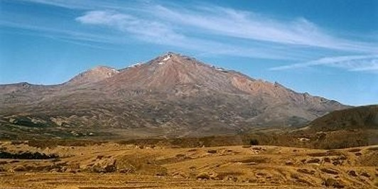 Mt. Ruapehu on the Tongariro Northern Circuit