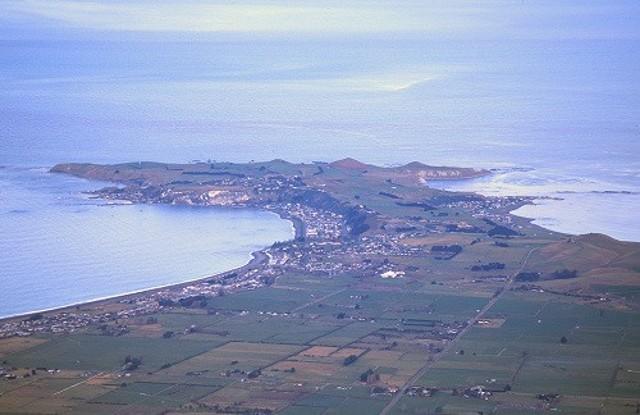 Kaikoura Peninsula.