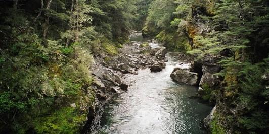 Hope River canyon
