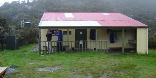 Perry Saddle Hut