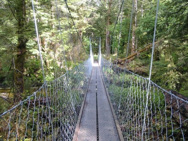 Swingbridge on the Kepler Track