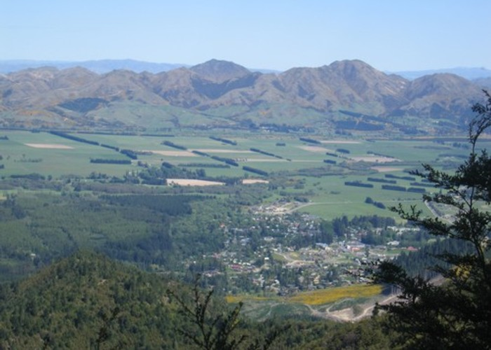 View of Hanmer Springs