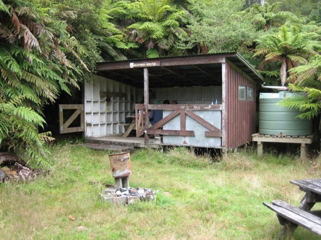 Ngapurua shelter