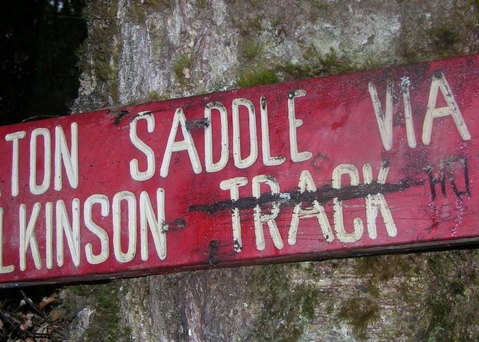 Wilkinson Track sign