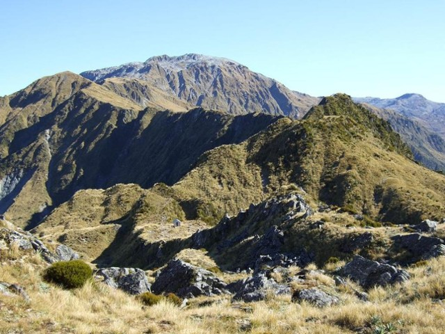 Toaroha Saddle biv & Diedrich Range  April 2011