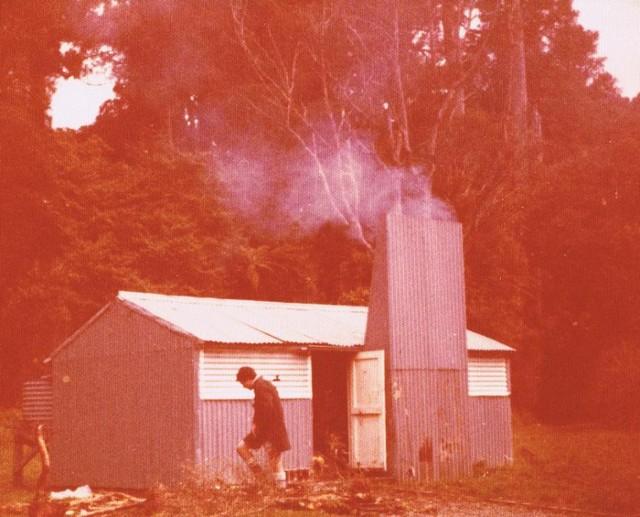 Okui hut  October 1977