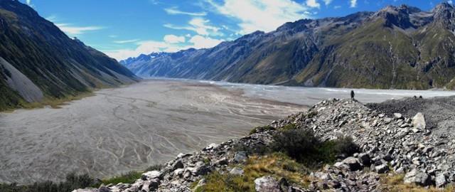 Murchison valley from Tasman moraine