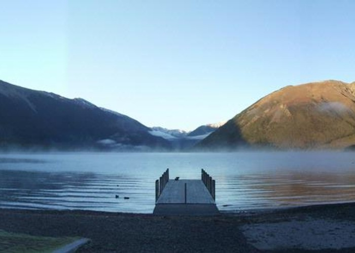 St Arnaud Camp Ground Jetty