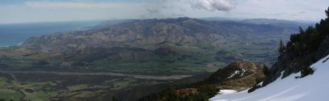 Kaikoura from Mt Fyffe Track (Sep 2011)