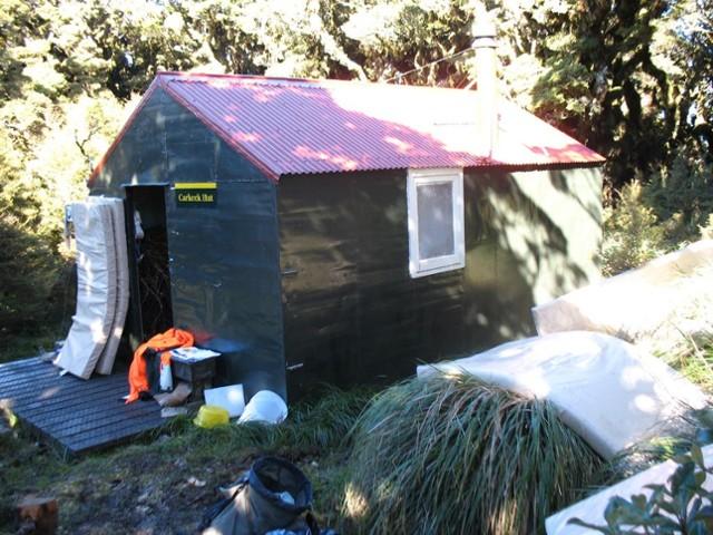 Carkeek Hut ,Tararua FP