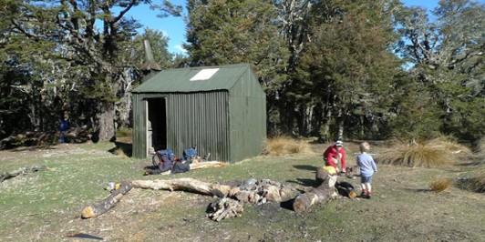 Bealey Spur Hut - Oct 2011
