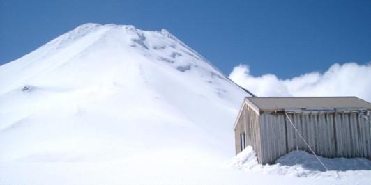 Syme Hut and Taranaki