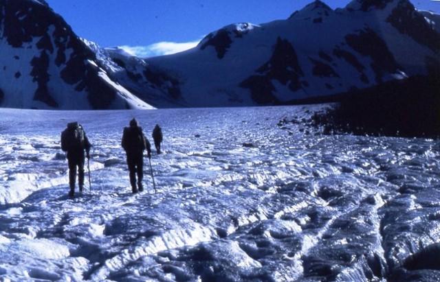 Godley Glacier 5 am