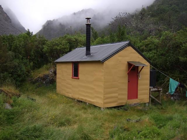 Smyth hut  January 2012