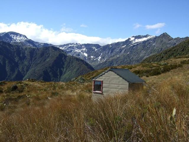 Dickie Spur hut & Tuke River headwaters  Jan 2012