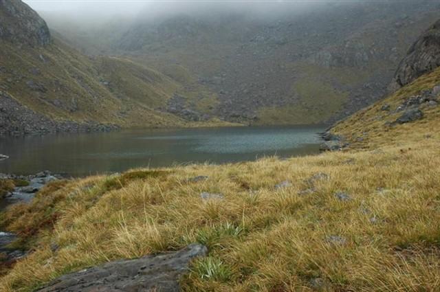 Lake Never, Bryneira Ranges