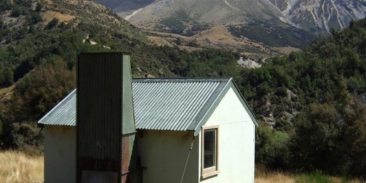 Broken River hut  Feb 2012