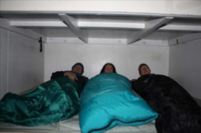 Goodnight at Pahautea hut on Pirongia