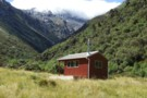 """New"" Top Crawford hut Feb 2012"