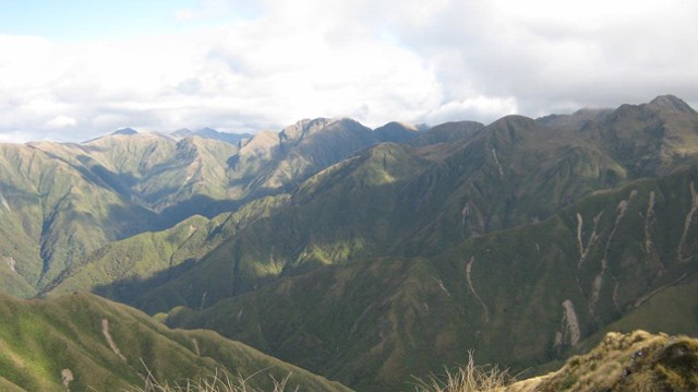 Interior of the Northern Tararua Range