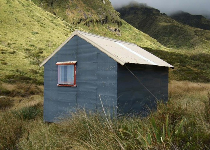 Top Tuke hut  March 2012