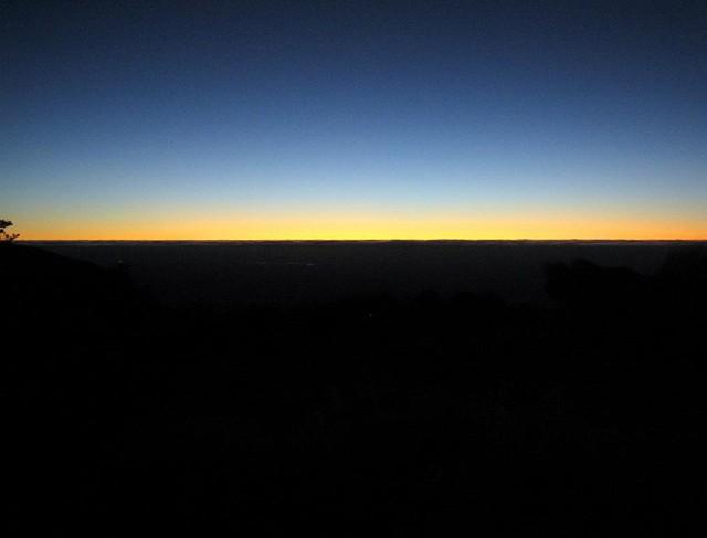 Sunrise from Sunrise hut