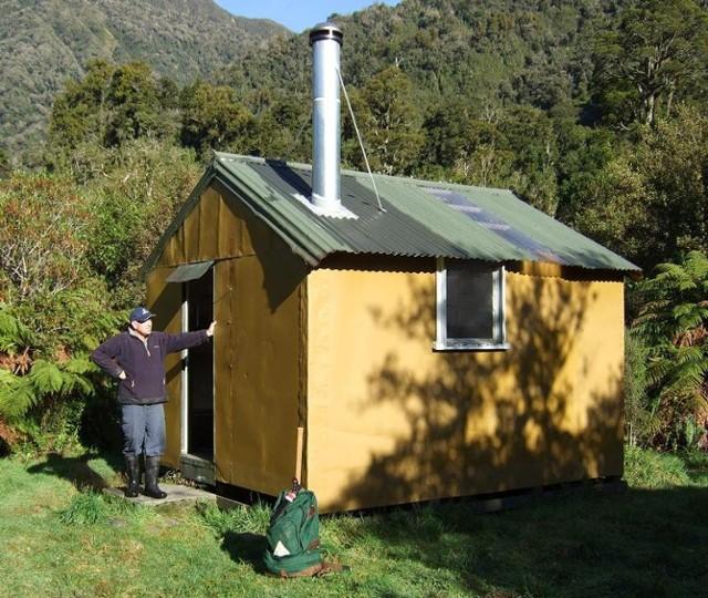 Rapid Creek hut  June 2008