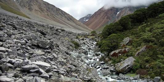 Ultramafic rocks, Hidden Falls Creek