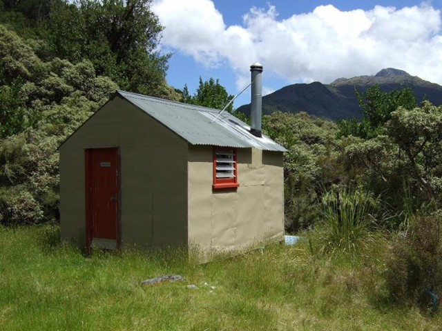 Newton Creek hut  Dec 2011