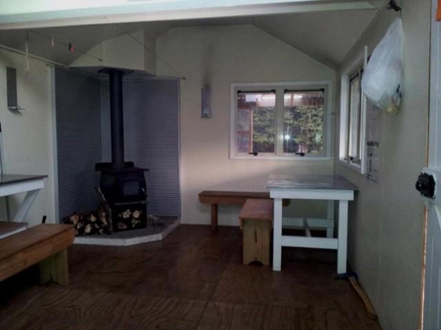 Inside Mackintosh Hut