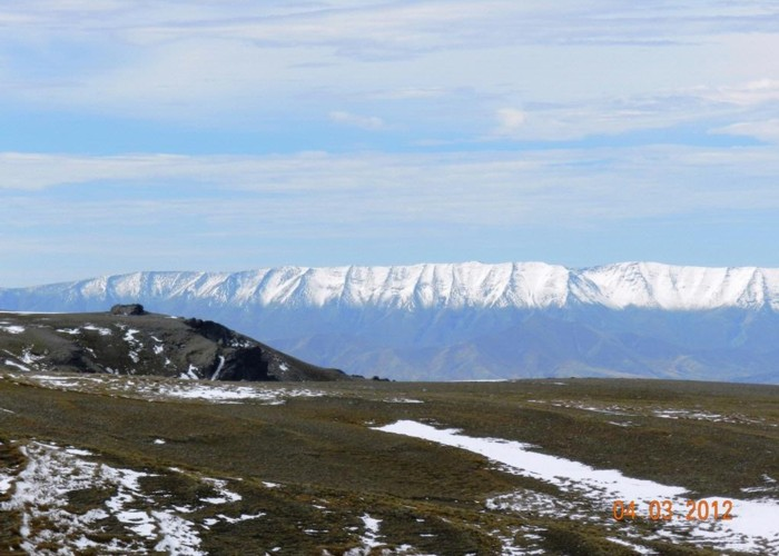 The Dunstan Range from the Pisa Range
