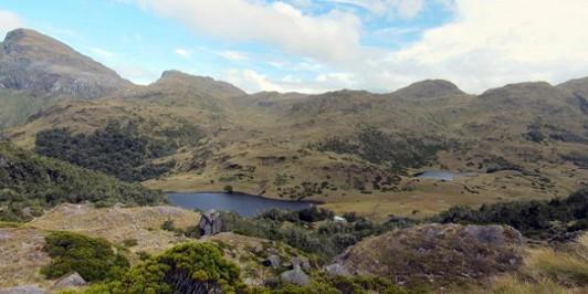 Lake Roe Hut and Furkert Pass