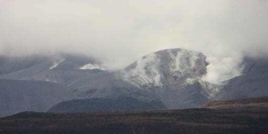 Te Mari Crater, post the August 2012 Eruption