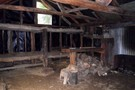 Old Manson Hut interior