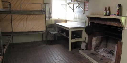 Pararaki Hut Interior