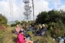 Lunch on the top of Maungakawa