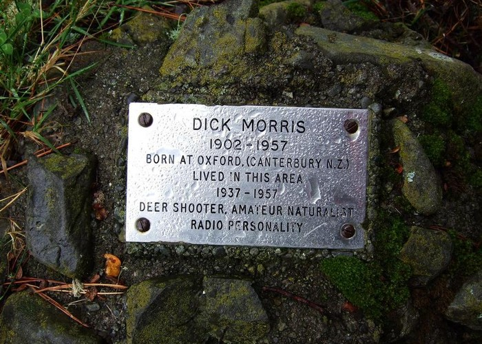 Dick Morris plaque