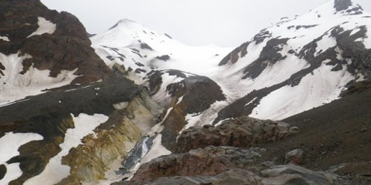Whangaehu Glacier