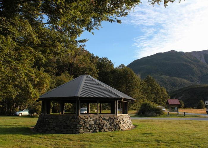 Klondyke shelter and campsite
