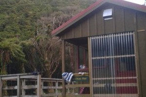 North Ohau Hut Exterior
