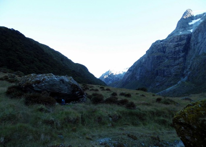Hobbs Bivvy, Routeburn North Branch