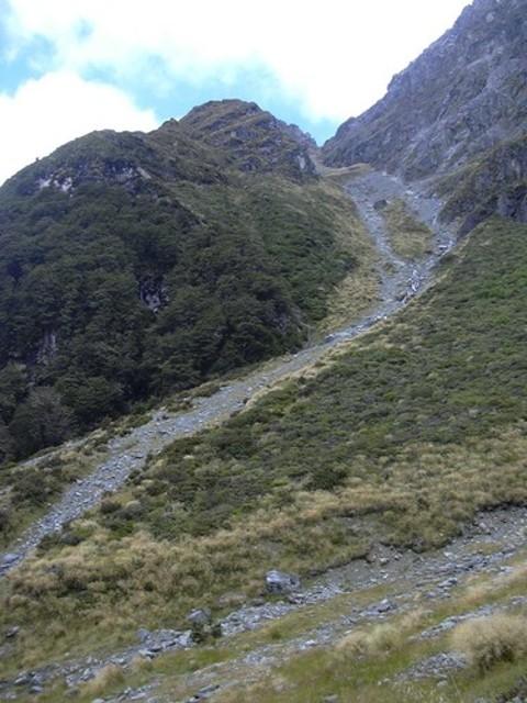 Descent to Glacier Burn
