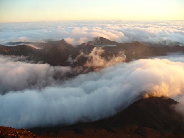 Tongariro Massif at Dawn