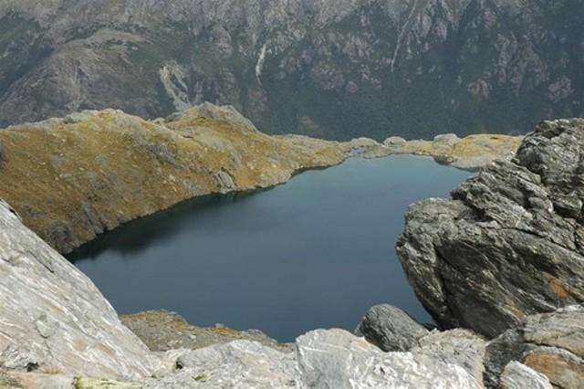 Unnamed lake under Angle Peak