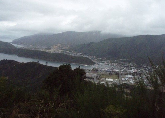 Picton, from Mt Freeth