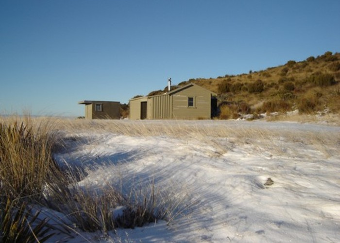 Mt Bee Hut complex
