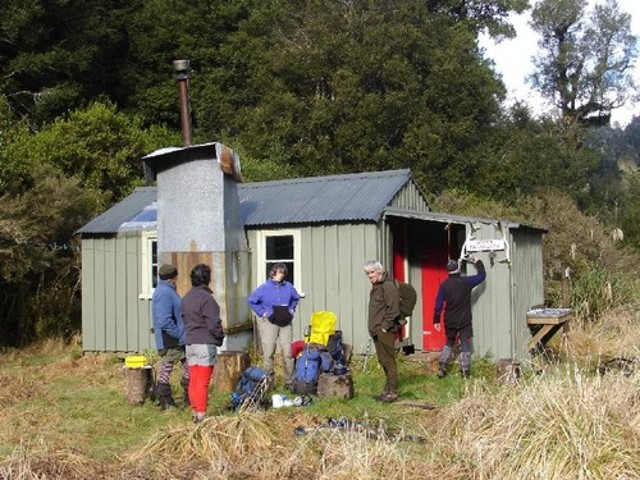 Upper Matakuhia Hut